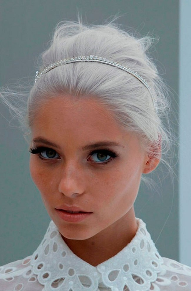 La tendencia Granny Hair se pone de moda para este otoño!! 8