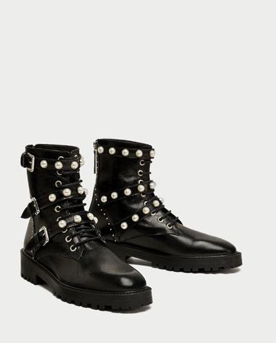 Look Made in Zara: Las botas del otoño son de perlas 4