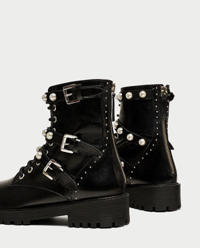 Look Made in Zara: Las botas del otoño son de perlas 3