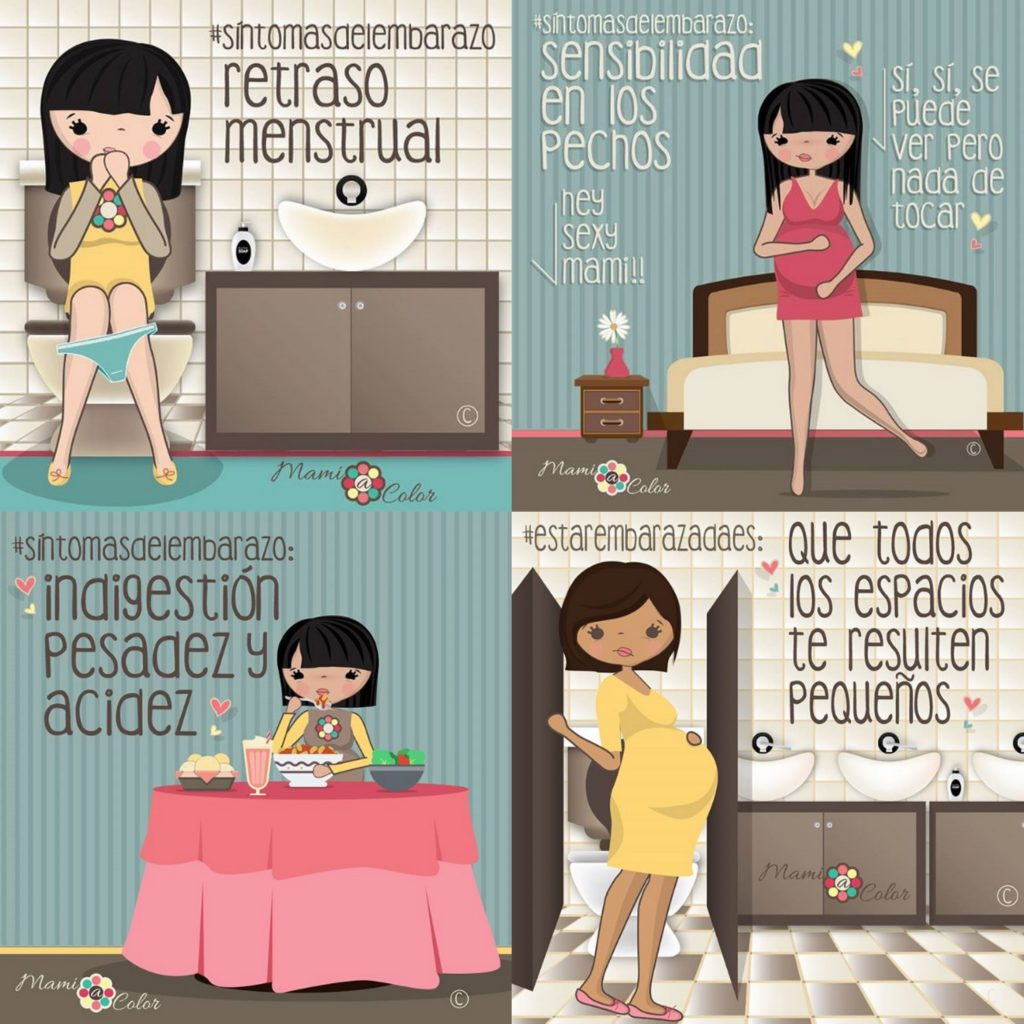 La dulce noticia del embarazo 5