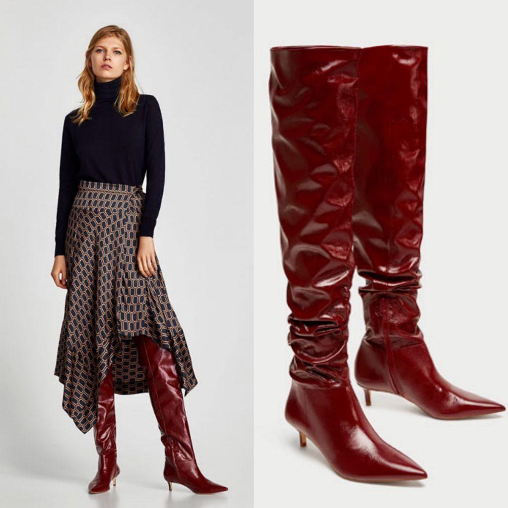 Las botas rojas invaden las calles este otoño, te animas!! 1