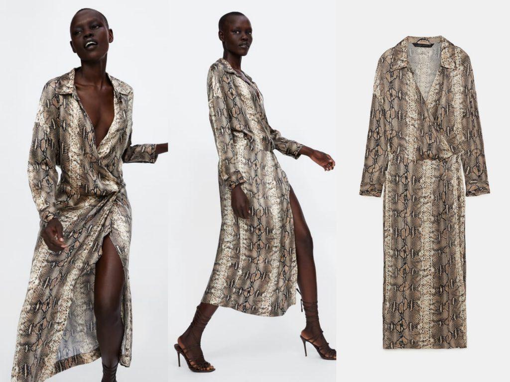 El vestido que se ha convertido en viral, es de Zara 2