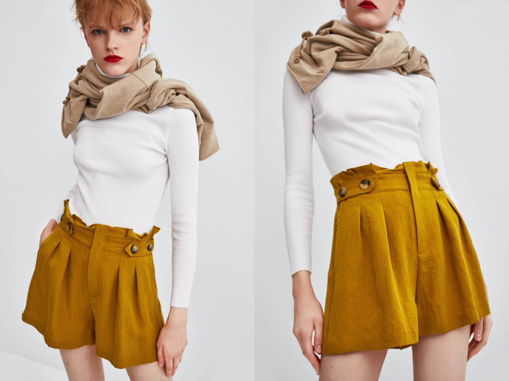 El color de moda de esta temporada, es el mostaza 7
