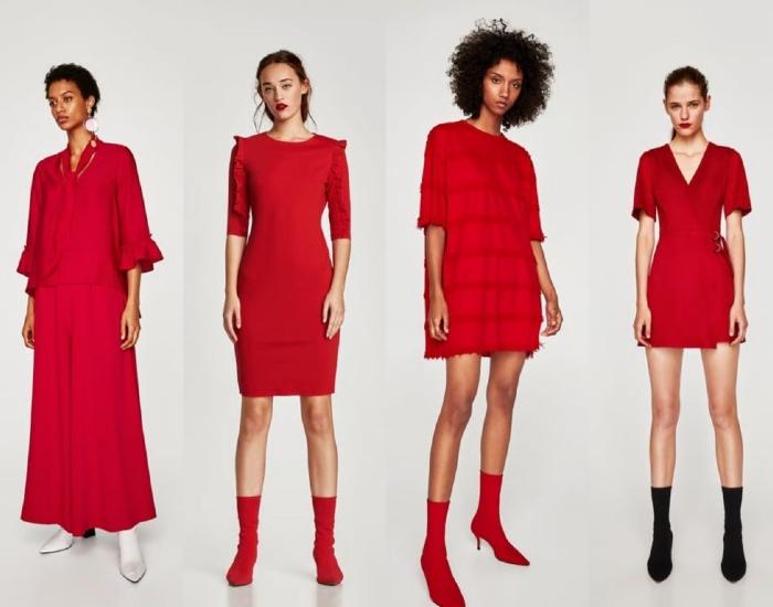 7 Ideas para vestir de rojo y no sentirte como caperucita 2
