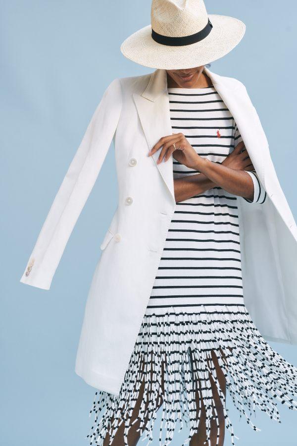 Como vestir con el estilo navy en verano